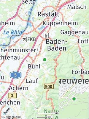 Here Map of Neuweier