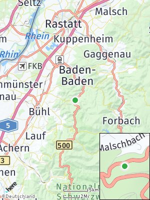 Here Map of Malschbach