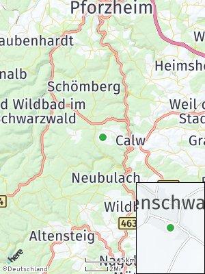 Here Map of Weltenschwann