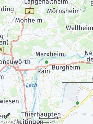 Here Map of Niederschönenfeld