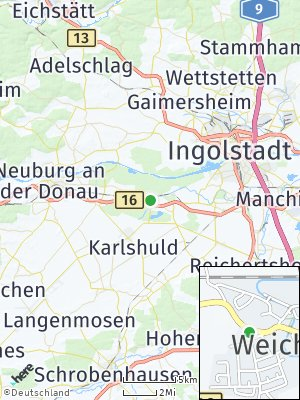 Here Map of Weichering