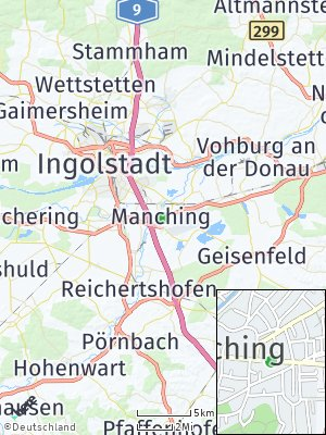 Here Map of Manching