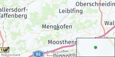 Google Map of Mengkofen
