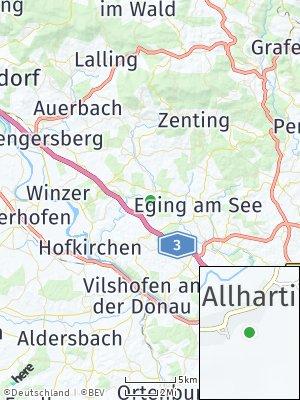 Here Map of Außernzell