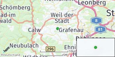 Google Map of Ostelsheim