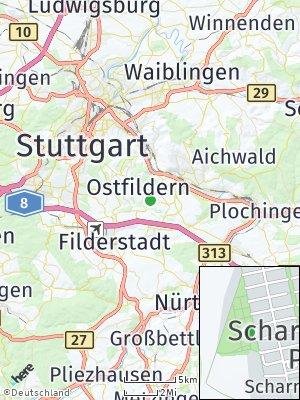 Here Map of Scharnhauser Park