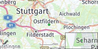 Google Map of Ostfildern