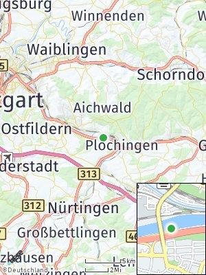 Here Map of Deizisau