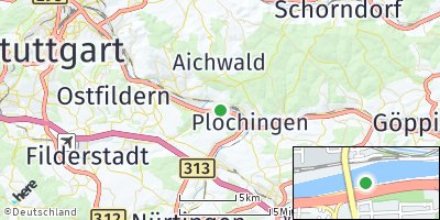 Google Map of Deizisau