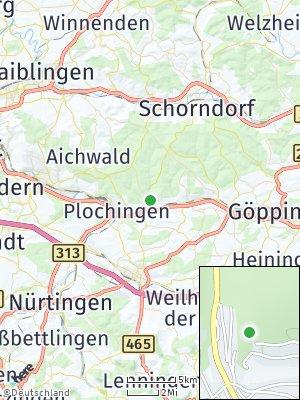 Here Map of Reichenbach an der Fils