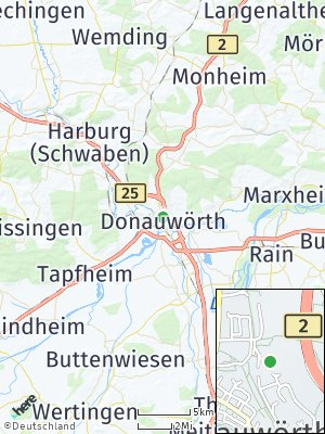 Here Map of Donauwörth