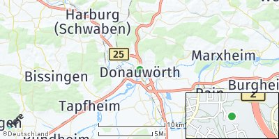 Google Map of Donauwörth