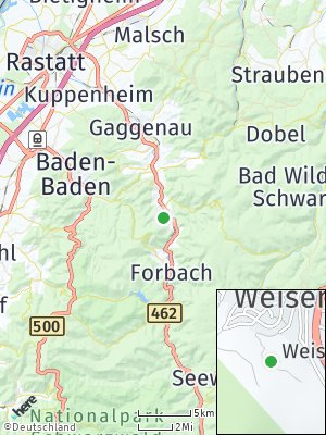 Here Map of Weisenbach