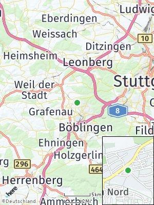 Here Map of Landhaussiedlung