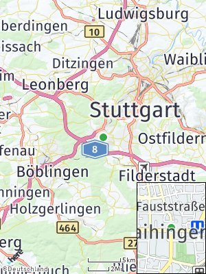Here Map of Vaihingen