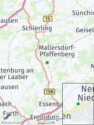 Here Map of Neufahrn in Niederbayern