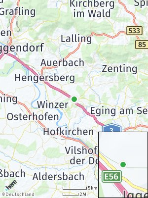 Here Map of Iggensbach