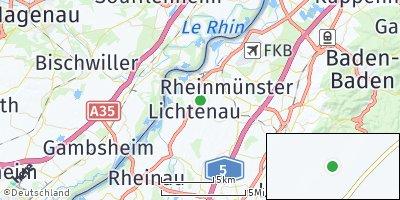 Google Map of Lichtenau