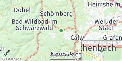 Google Map of Oberreichenbach