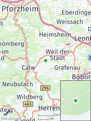 Here Map of Althengstett