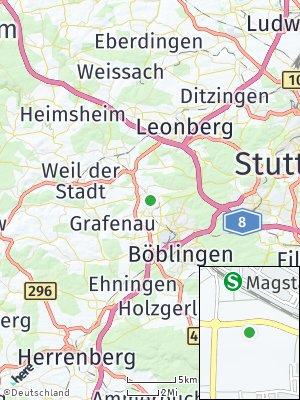 Here Map of Magstadt