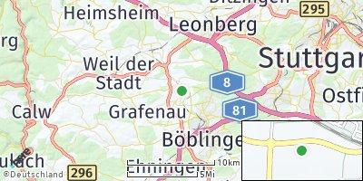 Google Map of Magstadt
