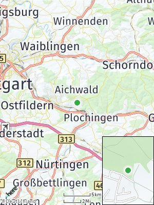 Here Map of Altbach