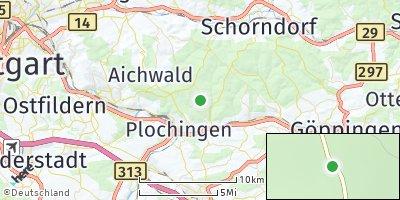 Google Map of Baltmannsweiler