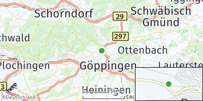 Google Map of Rechberghausen