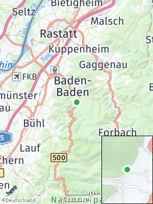 Here Map of Geroldsau