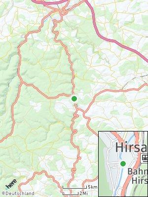 Here Map of Hirsau-Lützenhardter Hof