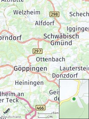 Here Map of Hohenstaufen