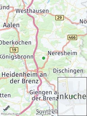 Here Map of Kleinkuchen