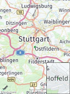 Here Map of Hoffeld