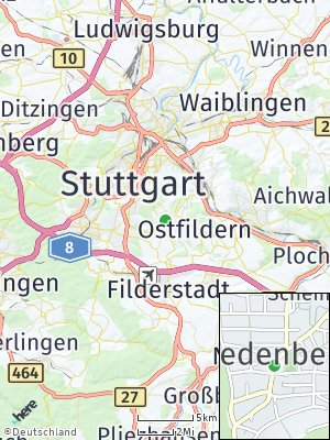 Here Map of Riedenberg