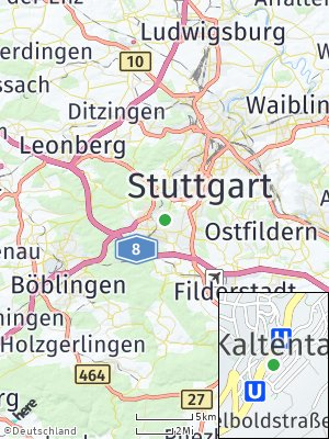Here Map of Kaltental
