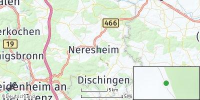Google Map of Neresheim