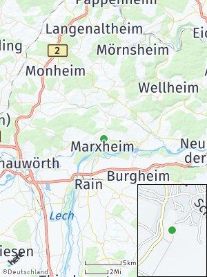 Here Map of Marxheim