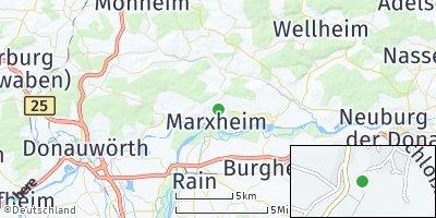 Google Map of Marxheim