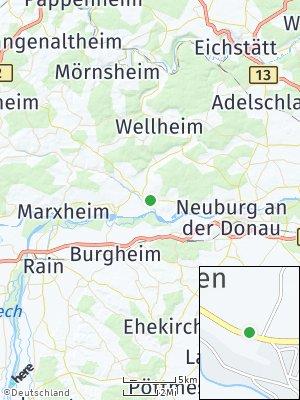 Here Map of Rennertshofen