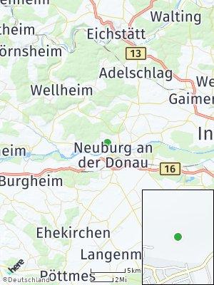 Here Map of Bittenbrunn