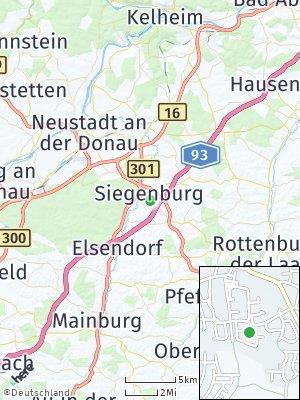 Here Map of Siegenburg