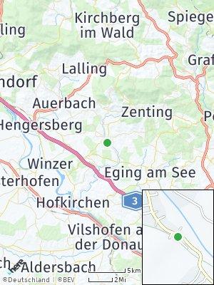 Here Map of Schöllnach