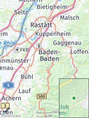 Here Map of Fremersberg