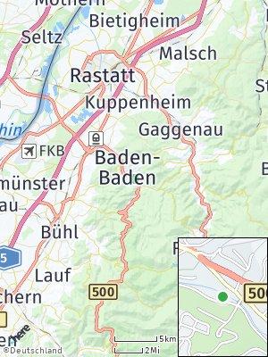 Here Map of Weststadt