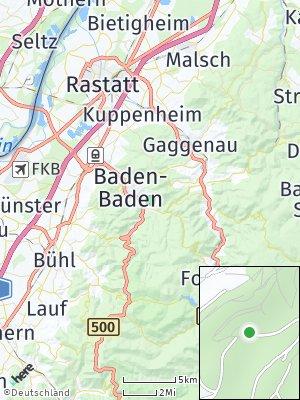 Here Map of Lichtental