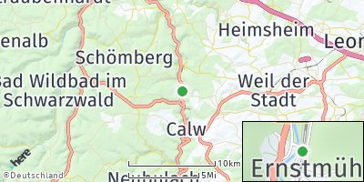 Google Map of Ernstmühl