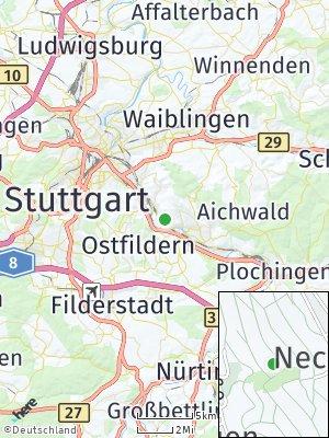 Here Map of Mettingen