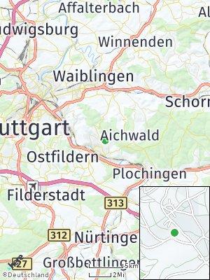 Here Map of Hegensberg