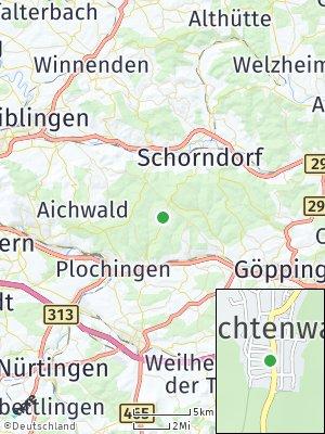 Here Map of Lichtenwald
